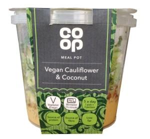 Co-op vegan meal pot