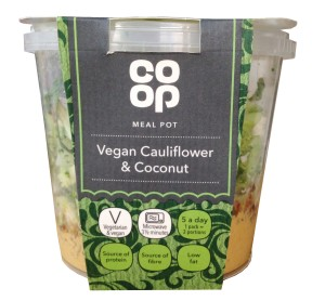 Co-op vegan meal pot